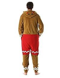 #followme Pijama de una pieza de mono de jengibre para adultos para hombre