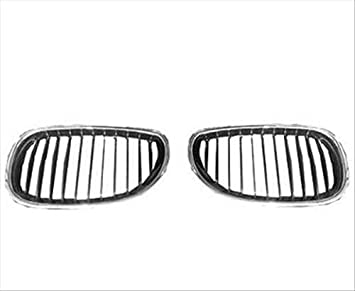OE Replacement BMW Driver Side Grille Assembly Parts link Number BM1200134