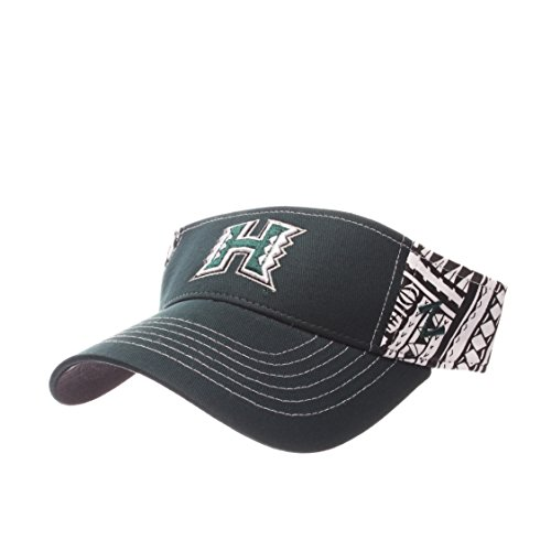 NCAA Hawaii Rainbow Warriors Adult Men's Hanauma Visor, Adjustable Size, Team Color (Rainbow Visor)