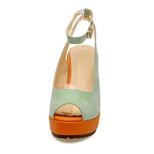 Solides De Haute Voguezone009 Talon Femmes Plate 5 forme Pu Des Royaume uni Sandales Bleu Au Ouvert Toe De Peep rw4zOBqYw