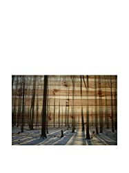 Marmont Hill Red Vision Canvas Wall Art, 32 By 32-inch