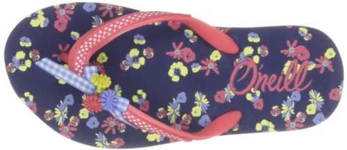 O'Neill Bella Girls - Sandalias Niñas Blue Aop Yellow Or Ora
