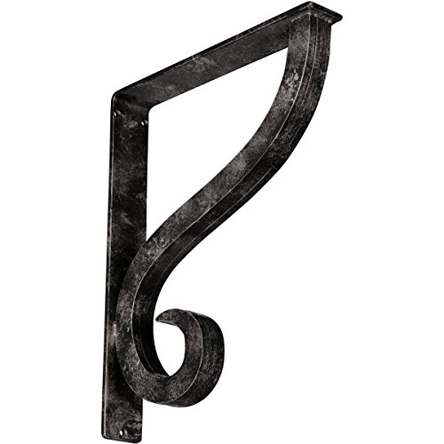 - Ekena Millwork BKTM02X12X15TASAWS Metal Bracket, 2