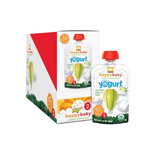 Organic Simple Combos Yogurt Zucchini
