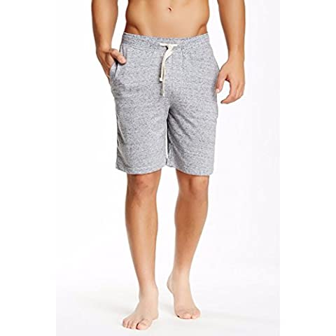 Bottoms Out Men's Space Dyed French Terry Shorts - Grey/Black (Small) - Dyed Cotton Short