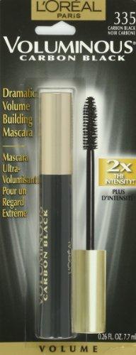 L'Oreal Paris Voluminous Original Mascara, Carbon Black, 0.26 Ounces