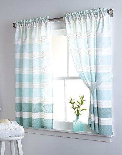 DKNY Highline Stripe Window Curtain Single Panel