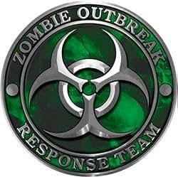 Amazon.com: REFLECTIVE Zombie Response Team Zombie ...