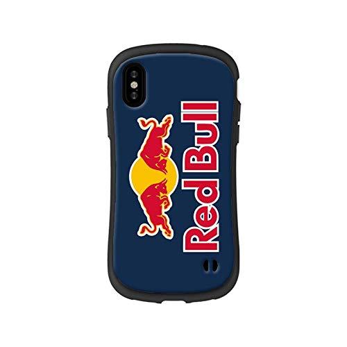 coco noka【ココノカ】 レッドブル Red Bull iphoneケース アイフォーンカバー ワイヤレス充電対応 衝撃防止 (iphone7plus/8plus, ネイビー)