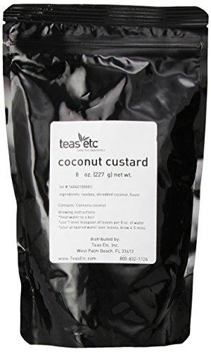 Teas Etc Coconut Custard Loose Leaf Rooibos 8 oz.