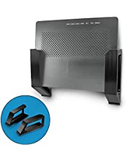 """Screwless 1.5"""" Wide Cable Box Mount, Modem, Router, Mesh, Streaming Media Devices & More Wall Mount 