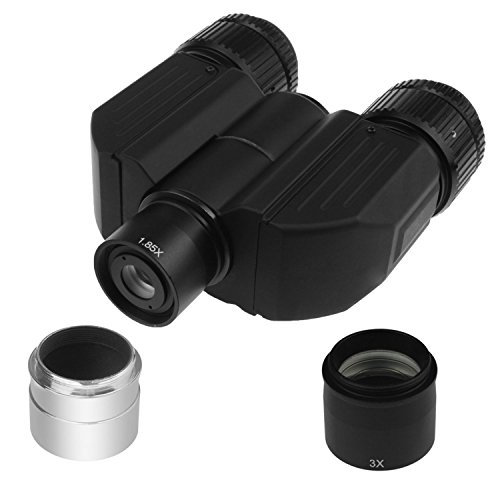 Astromania Stereo Bino Viewer - allows you to adapt two eyepieces to your telescope and view with both eyes simultaneously