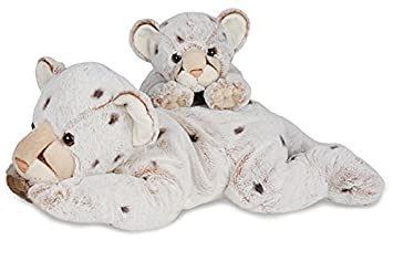 HISTOIRE DOURS - HO2305 Medium Plush Snow Panther 17.71 in