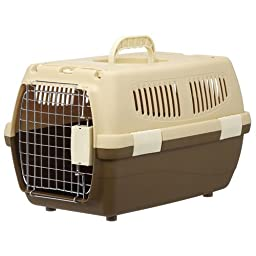2 door carry small dogs and cats for Brown (japan import)