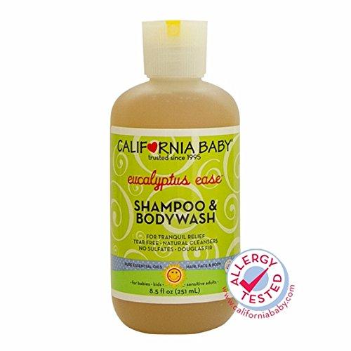 California Baby Shampoo & Body Wash Eucalyptus Ease - 8,5 onces liquides