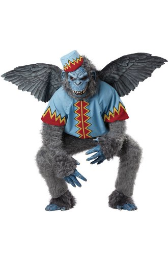 California Costumes Men's Evil Winged Monkey Adult, Grey/Blue, Medium -