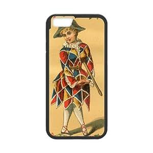 iPhone 6 Plus 5.5 Inch Cell Phone Case Black Harlequin Vintage 001 KYS1078135KSL