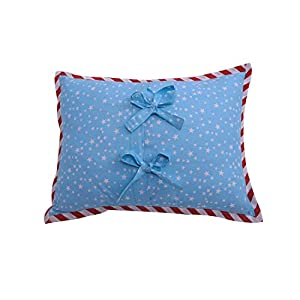 Bacati Space Multicolor Boys Cotton Dec Pillow