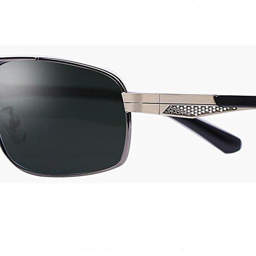 eaa344f467 HONEY Gafas De Sol Cuadradas Polarizadas Para Hombres Lentes De Alta  Definición A Prueba De Explosiones