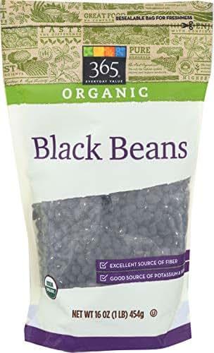 365 Everyday Value, Organic Black Beans, 16 oz