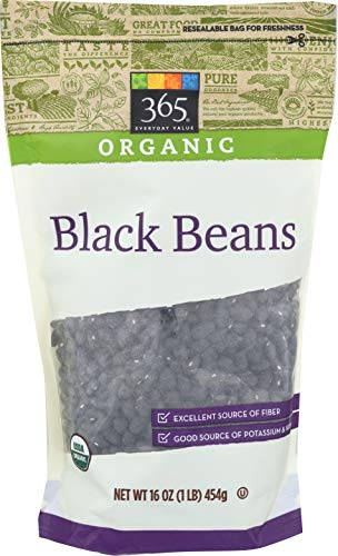 365 Everyday Value, Organic Black Beans, 16 oz (Best Canned Pinto Beans Recipe)