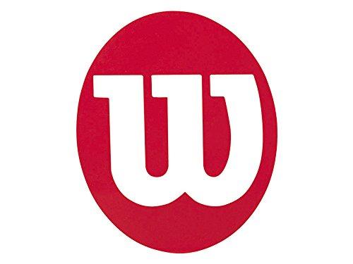 Wilson TENNIS STENCIL Wilson Logo-Maker Stencil W für Tennisschläger rot