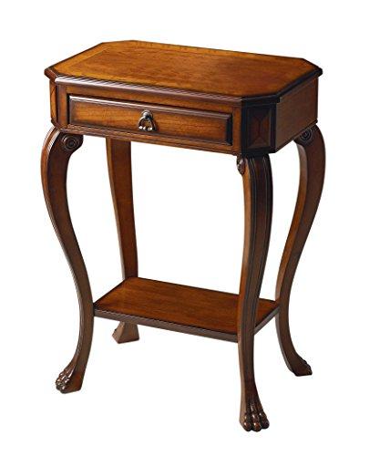 BUTLER 5021101 CHANNING OLIVE ASH BURL CONSOLE TABLE (Burl Desk Ash)