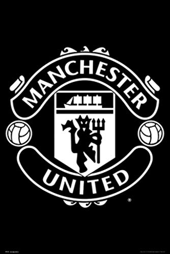 Official Licensed Manchester United F.C - Poster (CREST #32)