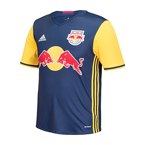 MLS New York Red Bulls Boys Replica Short Sleeve Team Jersey, Blue, Large