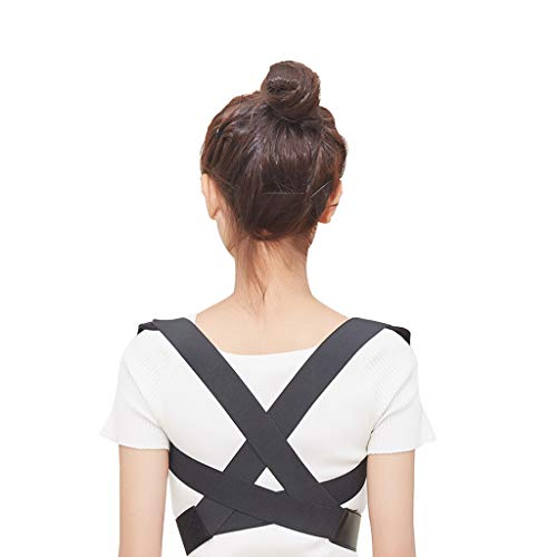 WYNZYJZBD Invisible Hunchback Correction Belt, Adult Students Universal Correction High and Low Shoulders with Chest Hunch Correction Belt Posture Correction (Size : M) by WYNZYJZBD (Image #5)