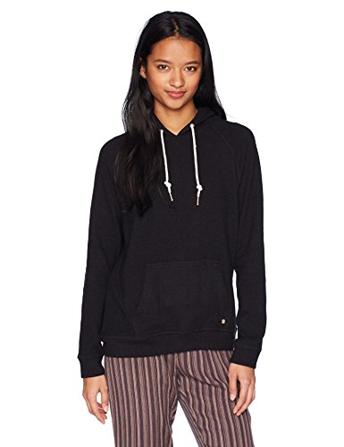 Volcom Junior's Lil Pullover Fleece Hoody Sweatshirt, Black, L - Volcom Jumper