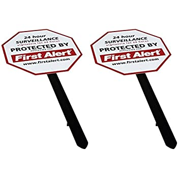 First Alert YS-1 Security Yard Sign - 2 Pack