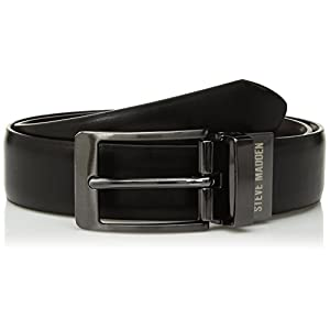 Steve Madden Boys' Big Reversible Belt for Kids