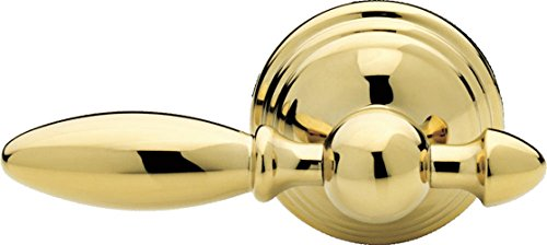 Victorian Brass Handle - Delta Faucet 75060-PB Victorian, Tank Lever, Polished Brass