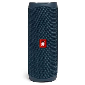 JBL Flip 5 Wireless Portable Bluetooth Speaker, JBL Signature Sound with Powerful Bass Radiator, Vibrant Colors with…