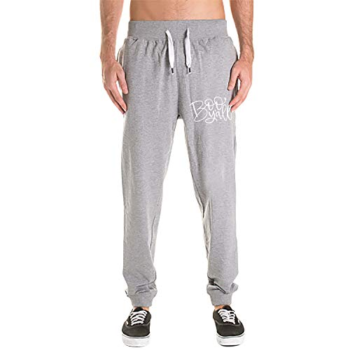 Kefanlk Halloween Men's Workout Running Pants Casual Sporting Pant with Pockets -