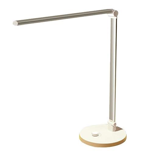 Lámparas de escritorio clasicos Lámpara de mesa de plata ...