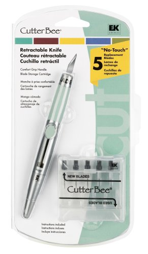 Ek Success Box - EK Success Cutter Bee Retractable Knife and Blades, Old Package