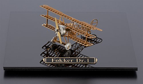 (The Fokker Dr. 1 Gold Edition by Aerobase - Unique Metal Models from Japan)