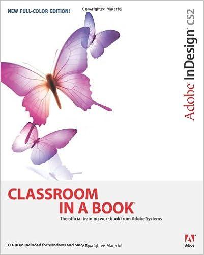Adobe InDesign CS2 Classroom in a Book: Adobe Creative Team ...