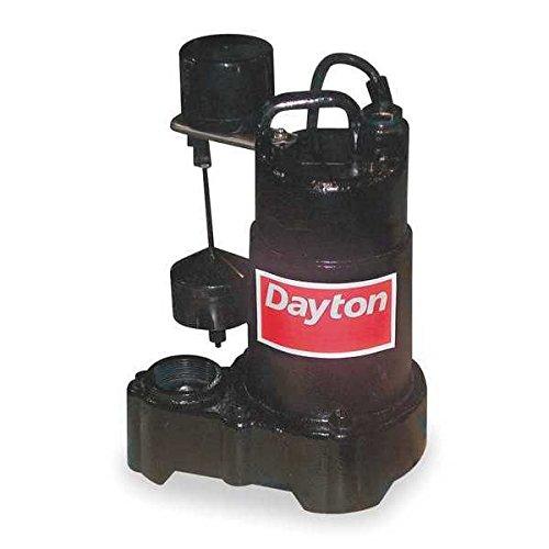 Dayton Sump Pump - Dayton 3BB72 Pump, Sump, 3/4 HP