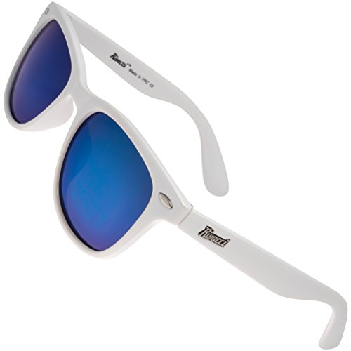 08fa2a59c Rivacci Men Women Wayfarer White Frame / Blue Mirror Lens Classic Retro Polarized  Sunglasses - Buy Online in Oman. | rivacci Products in Oman - See Prices,  ...