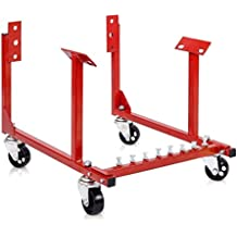 Chevy Engine Cradle Stand 1000lb Dolly Chrysler Chevrolet Wheels