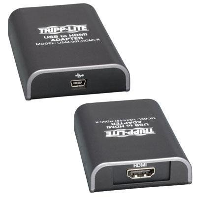 Brand New Tripp Lite Usb To Hdmi Adapter