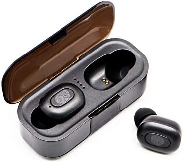 Latest Upgrade Bluetooth 5.0 Wireless Earbuds with Charging Box Waterproof Headset 45 Hours Playback time TWS Stereo with Microphone deep bass for Sports, Running