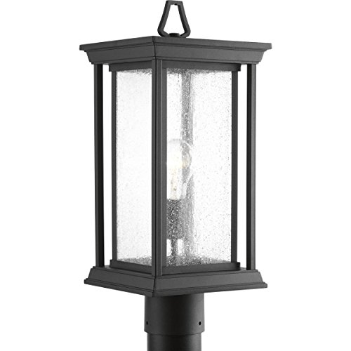Progress Lighting P5400-31 Endicott Black One-Light Post Lantern,