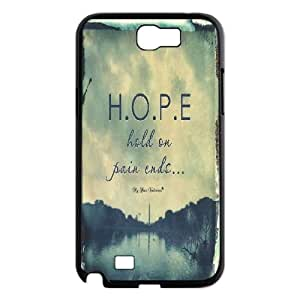 Hjqi - Customized Hold on pain ends Phone Case, Hold on pain ends Personalized Case for Samsung Galaxy Note 2 N7100