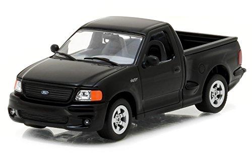 1999 Ford F-150 SVT Lightning Pickup Truck Black 1/43 Diecast Model Car Greenlight 86085 (Lightning Svt Truck)