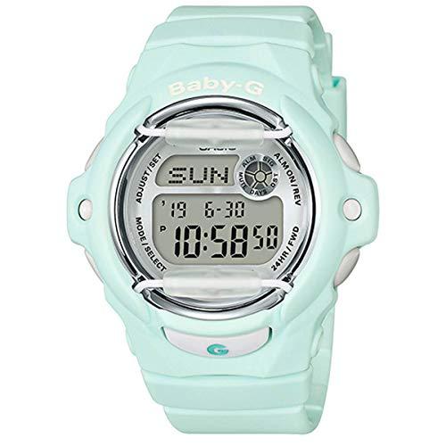 Casio BG169R-3 Baby G Women's Watch Light Mint 46mm Resin (Watch Mint)