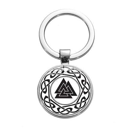 DADATU Llavero Pagan Amuleto Llavero Llavero Eslavo Noruega ...